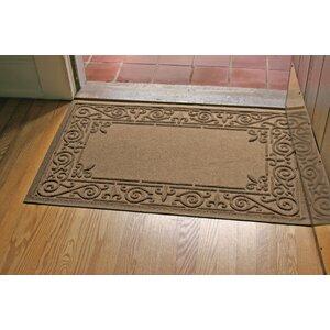 Aqua Shield Iron Fleur Doormat