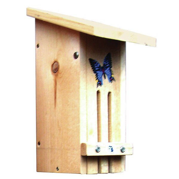 Nest Box 14 in x 7 in x 7.5 in Butterfly House by Stovall