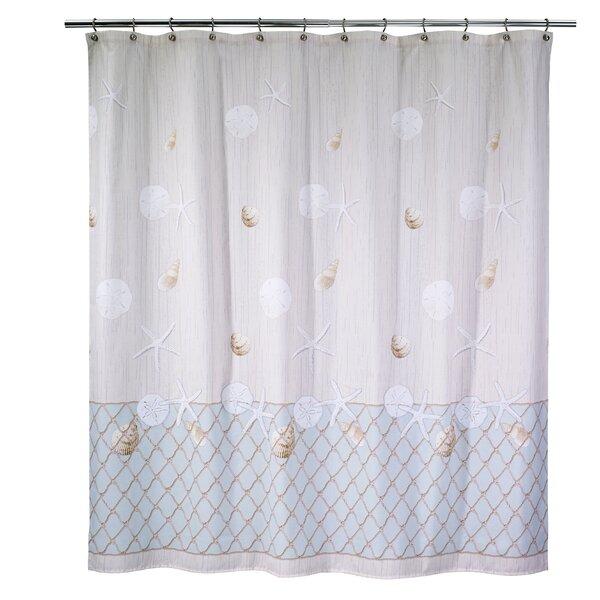 Seaglass Cotton Shower Curtain by Avanti Linens