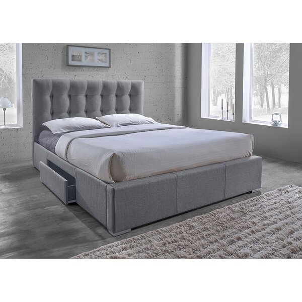 Hopp Upholstered Storage Platform Bed by Red Barrel Studio