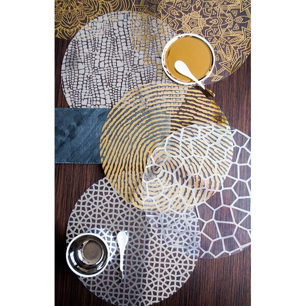 Au Cortez Placemat (Set of 4) by Victoria Lekach