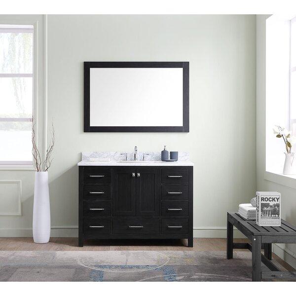 Hamden 47 Single Bathroom Vanity Set with Mirror by Greyleigh