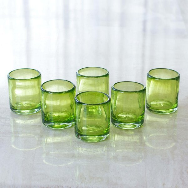 Javier and Efren Shot Glass (Set of 6) by Novica