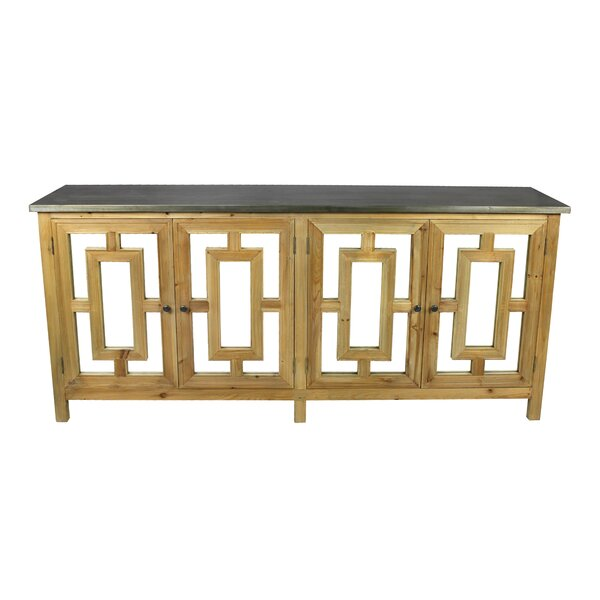 Lomeli 4 Door Credenza by Rosecliff Heights Rosecliff Heights