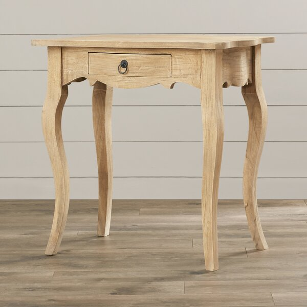 Lora Solid Wood End Table With Storage By Lark Manor