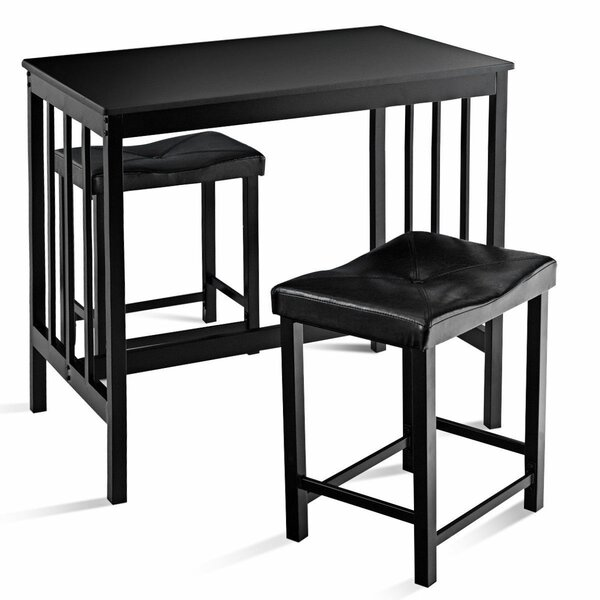 Miskell 3 Piece Dining Set by Winston Porter