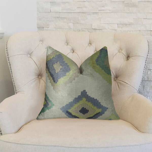 Native Trail Dew Handmade Linen Throw Pillow by Plutus Brands