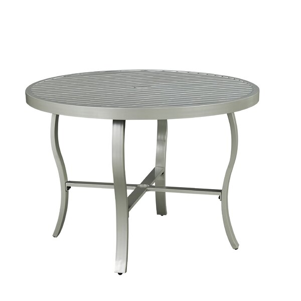 Dinan Metal Dining Table by Red Barrel Studio