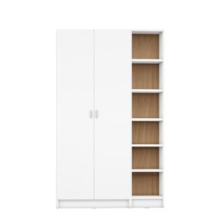 Dorthy 2 Piece Standard Bookcase Latitude Run