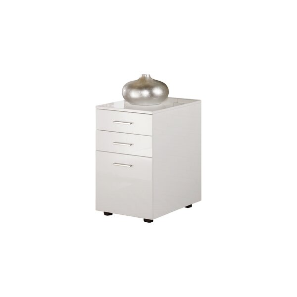 Lilo 3-Drawer Vertical Filing Cabinet by Orren Ellis