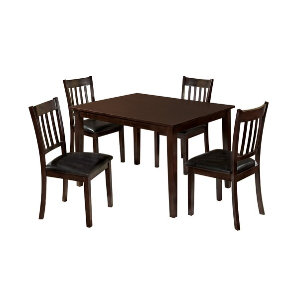 Lark 5 Piece Dining Set by Hokku Designs
