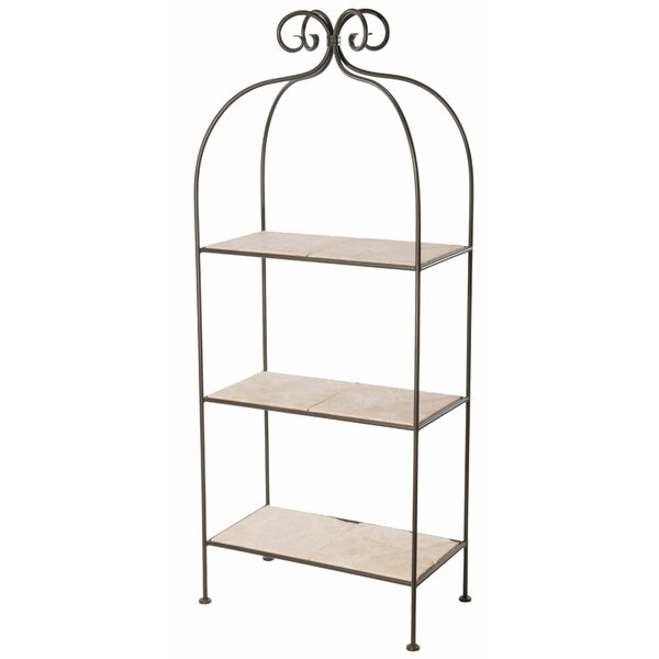 Churchill 3-Tier Etagere Bookcase by Fleur De Lis Living