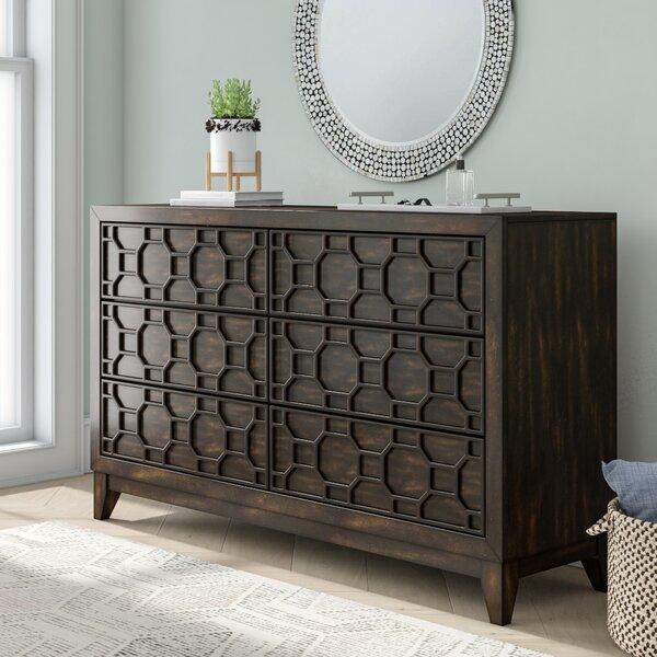 Keppler 6 Drawer Double Dresser by Wrought Studio