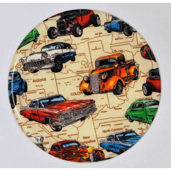 Hot Rods Trivet by Andreas Silicone Trivets