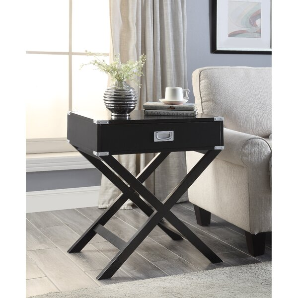 Axis End Table with Storage by Ebern Designs