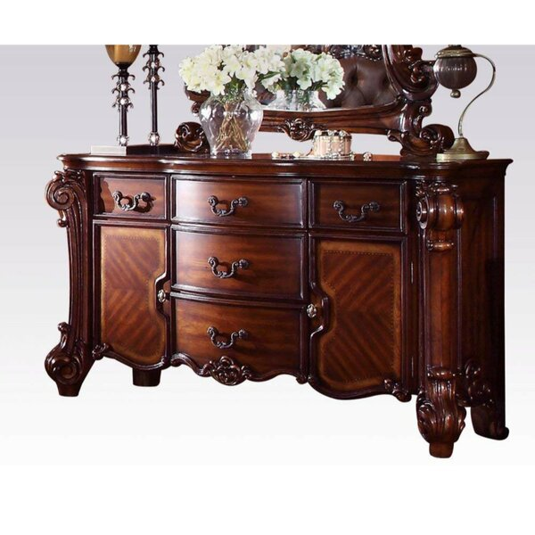 Szeto Wooden 5 Drawer Combo Dresser by Astoria Grand