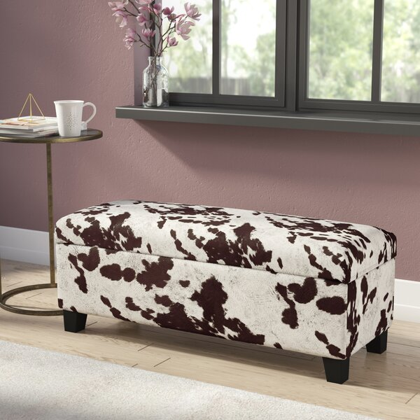 Hetherington Upholstered Storage Bench By House Of Hampton by House of Hampton Cheap