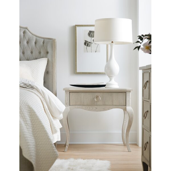 Reverie 1 Drawer Nightstand by Hooker Furniture