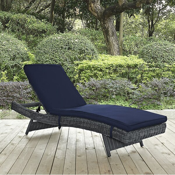 Keiran Chaise Lounge With Cushion By Brayden Studio