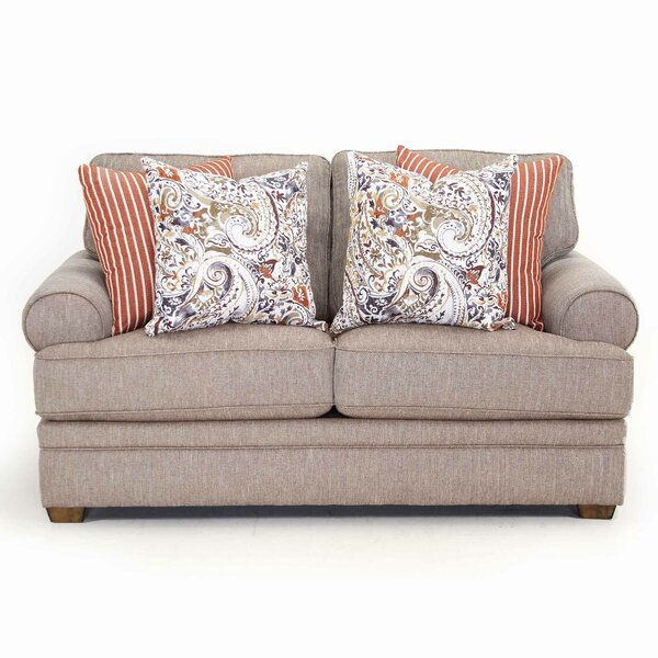 Fidel 68.5-inch Recessed Arms Loveseat By Canora Grey