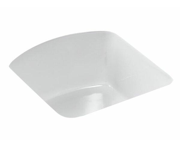 Napa 18.7 L x 18.7 W Under Mount Bar Sink by Kohler