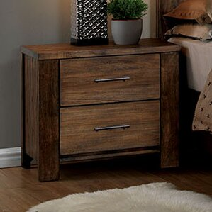 Brookdale 2 Drawer Nightstand by A&J Homes Studio