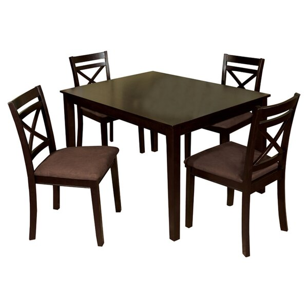 Easton 5 Piece Dining Set by Hokku Designs