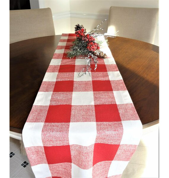 Lowrance Plaid Table Runner by Gracie Oaks