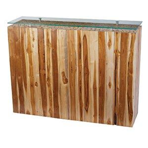 Gorham Teak Furniture Console Table by Bayou Breeze