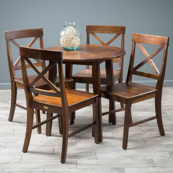 Stembridge 5 Piece Dining Set by Winston Porter