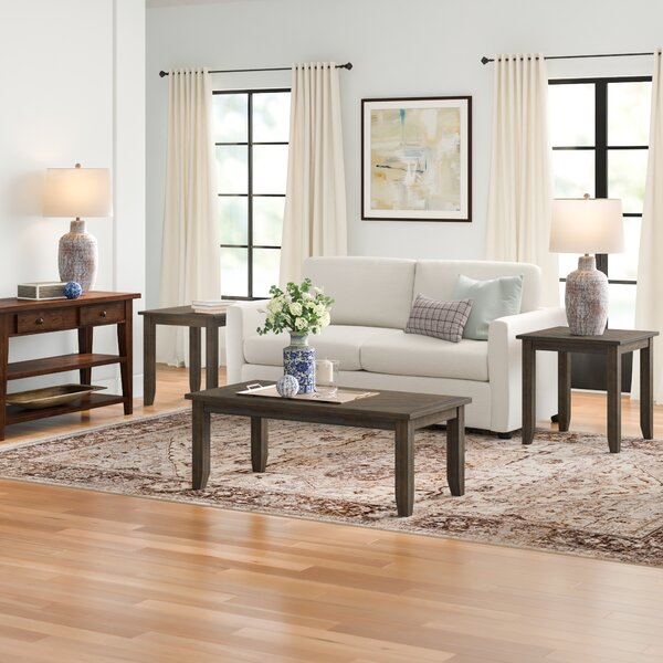 Ismay 3 Piece Coffee Table Set By Three Posts