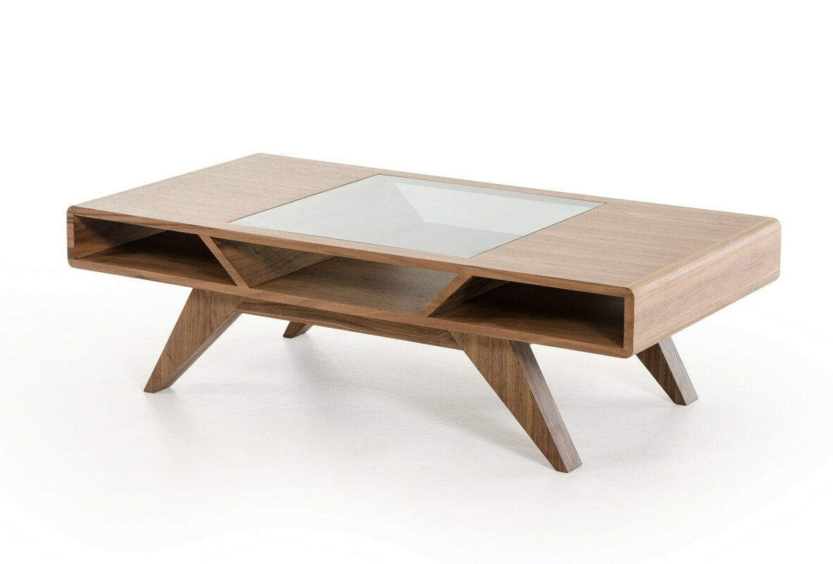 Minimalist Flatware Lipscomb Coffee Table Amp Reviews Allmodern