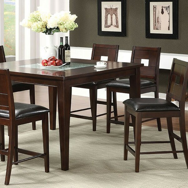 Alloway 7 Piece Counter Height Dining Set by Bloomsbury Market