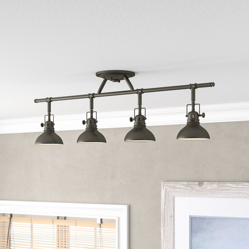 Dollinger 4 Light Fixed Track Lighting Kit