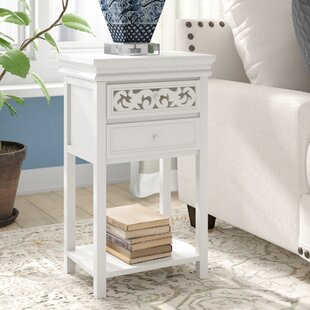 Nagel End Table With Storage Charlton Home