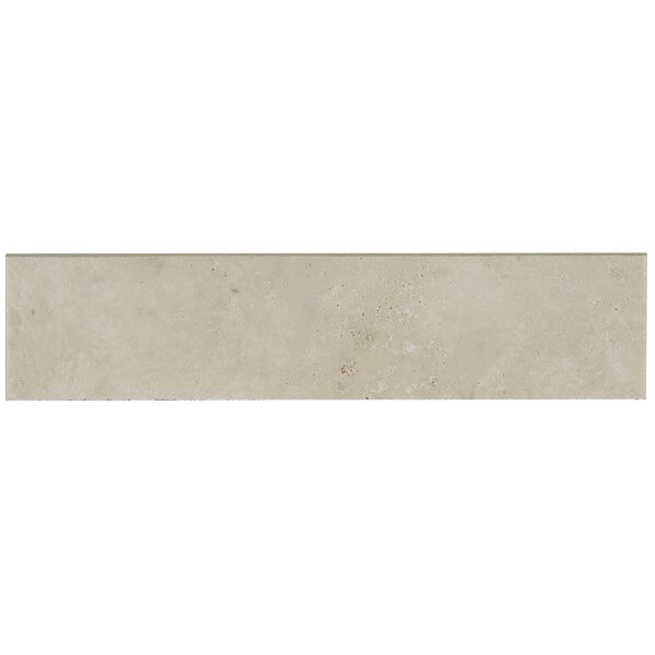 Davenport 12 x 3 Porcelain Bullnose Tile Trim in Sail by Daltile
