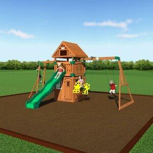 Castle Peak All Cedar Swing Set