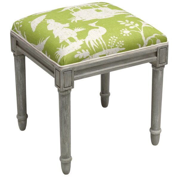 Chinoiserie Vanity Stool by 123 Creations