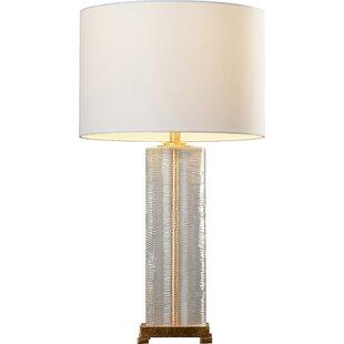 Modern contemporary gold base table lamp allmodern roque 28 table lamp aloadofball Choice Image