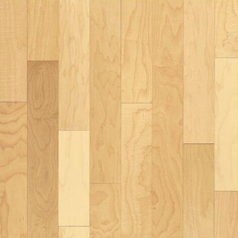 4 Solid Maple Hardwood Flooring in Semi Glossy Natural by Bruce Flooring