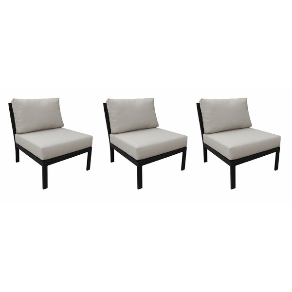 Madison Patio Chair with cushions (Set of 3) by kathy ireland Homes & Gardens by TK Classics