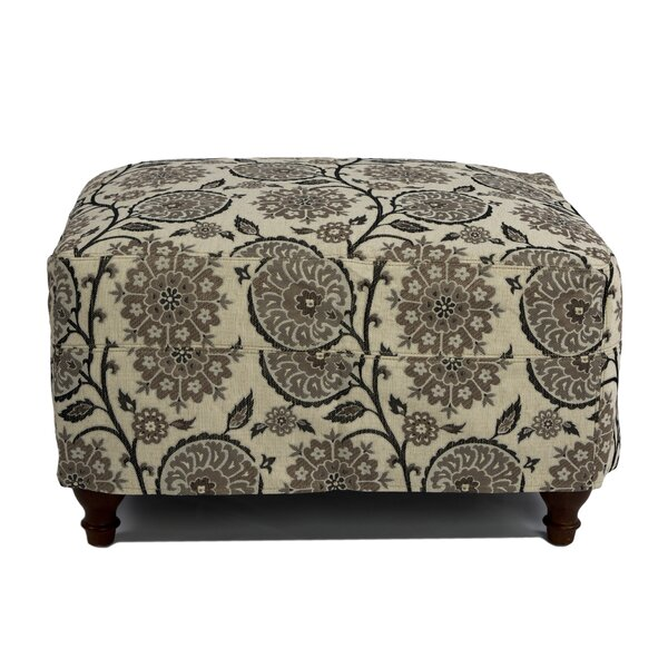 Seacoast Box Cushion Ottoman Slipcover by Sunset Trading