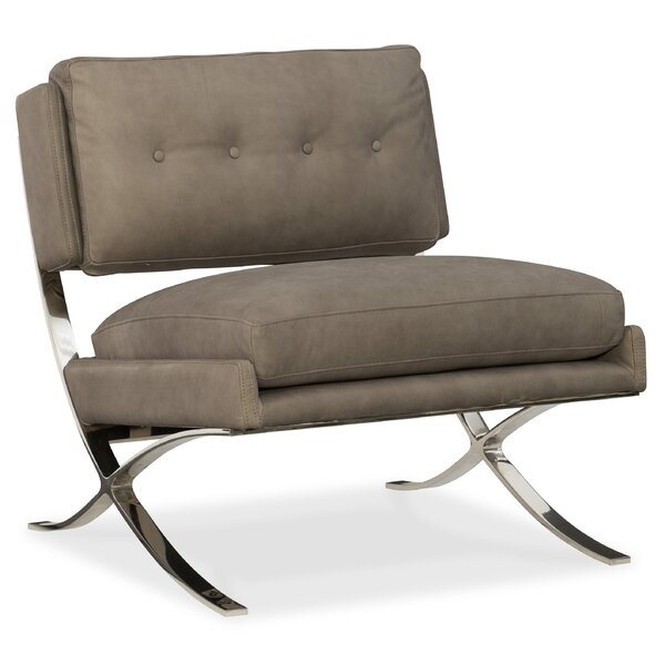 Cherie Metal Frame Slipper Chair by Hooker Furniture