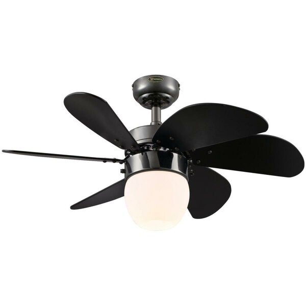 30 Turbo Swirl 6 Blade Ceiling Fan by Westinghouse Lighting