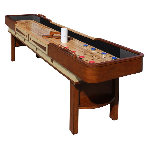Merlot Shuffleboard Table by Hathaway Games