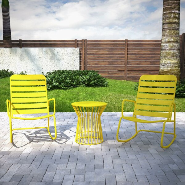 Roberta Outdoor 3 Piece Seating Group by Novogratz