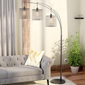 Industrial Floor Lamps Youu0027ll Love | Wayfair Part 98