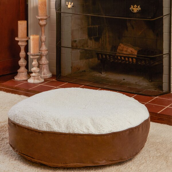 Scout Deluxe Round Dog Pillow by Happy Hounds