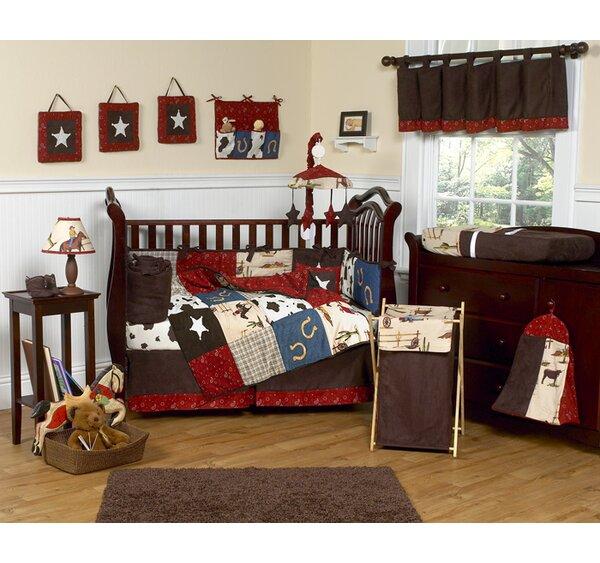 Wild West Cowboy 9 Piece Crib Bedding Set by Sweet Jojo Designs