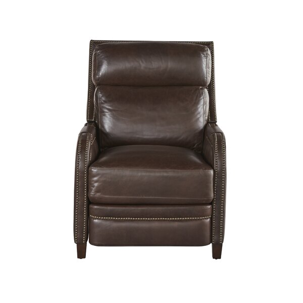 Mancuso Leather Recliner by Red Barrel Studio